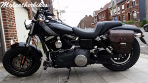 DY08 Antique sur Dyna Fat bob