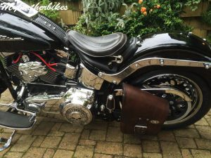 SO02 Veg Brun Softail Fatboy