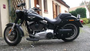 Sacoche Harley Fat boy special