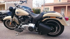Sacoche Harley softail fat boy