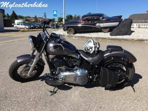 Sacoche SO01 Softail Slim