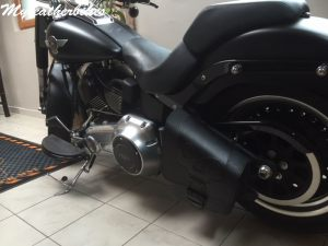 Sacoche SOftail fat boy SO02 2
