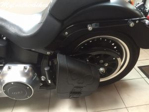 Sacoche SOftail fat boy SO02 3