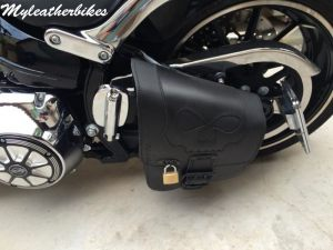 Sacoche SOftail fat boy SO02 5