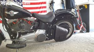 Sacoche SOftail fat boy SO02 7