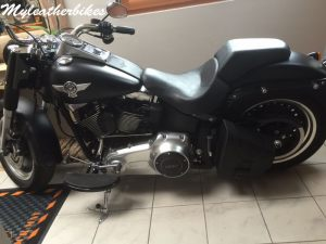 Sacoche SOftail fat boy SO02