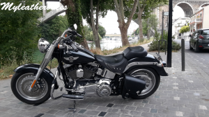 Sacoche Softail Fat boy SO06