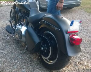 Sacoche en cuir softail SO06GLNG