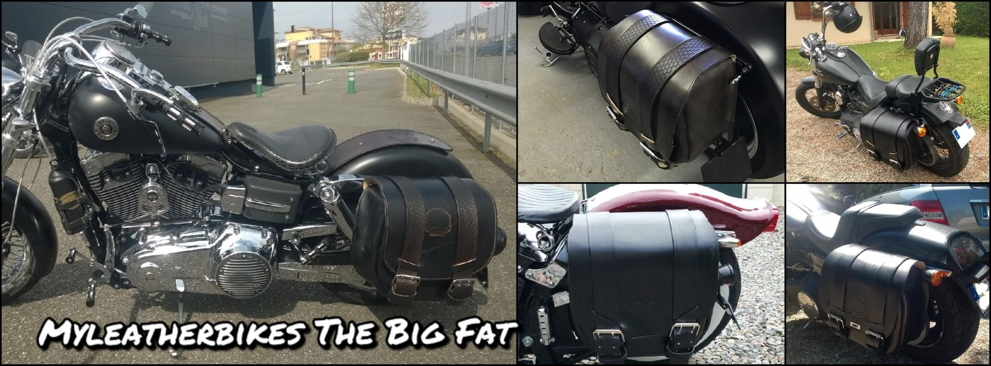 sacoche big fat harley