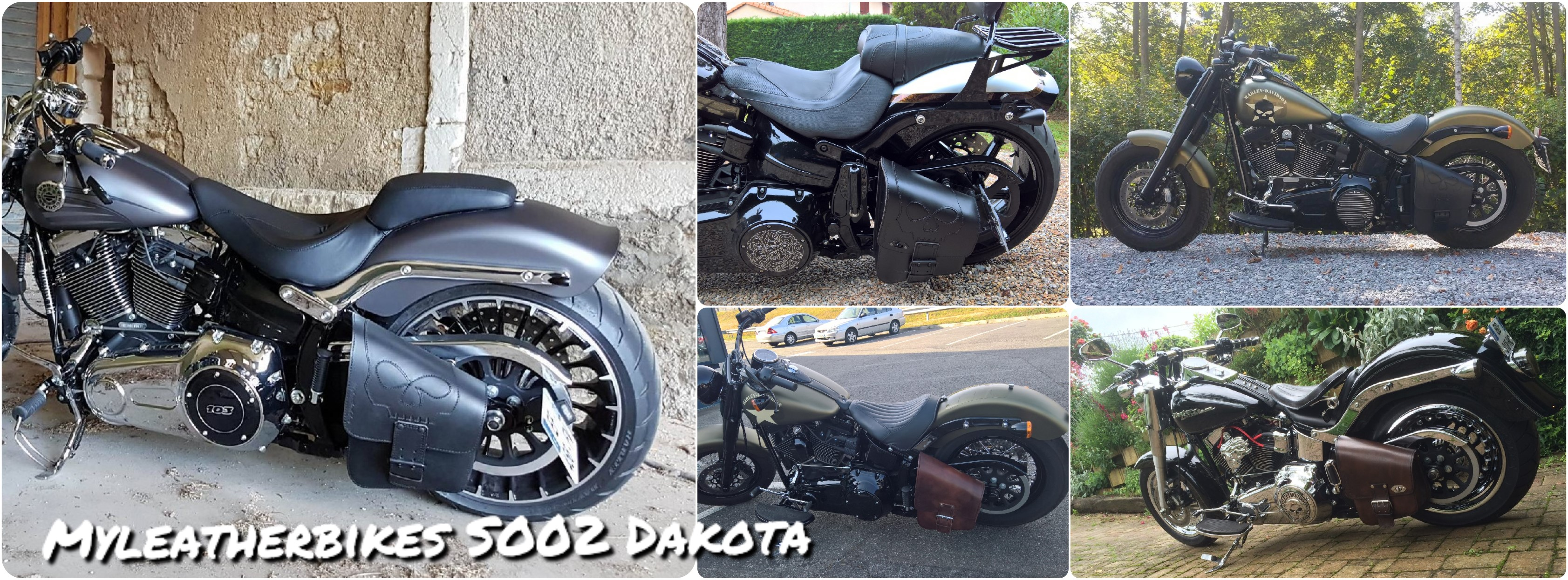 sacoche softail so02 Dakota