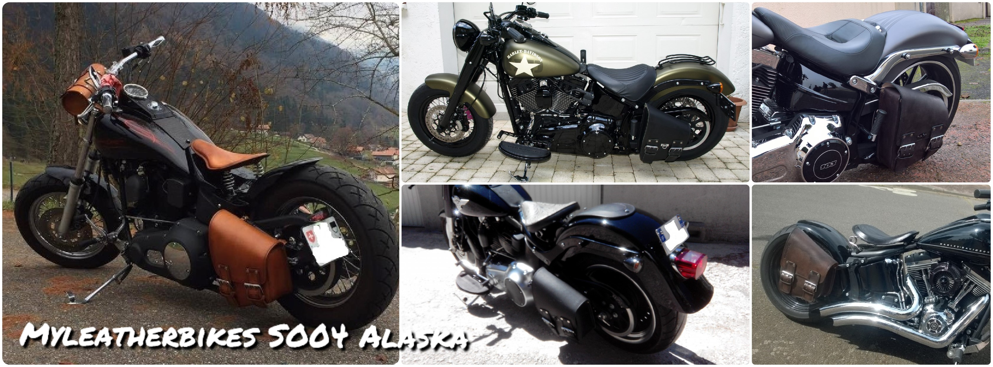 sacoche softail so04 alaska