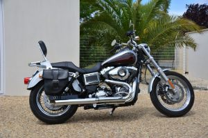 Sacoche Myleatherbikes Harley Dyna Low Rider (14)