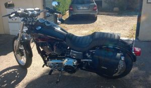 Sacoche Myleatherbikes Harley Dyna Low Rider (26)