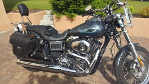 Sacoche Myleatherbikes Harley Dyna Low Rider (30)