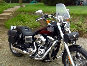 Sacoche Myleatherbikes Harley Dyna Low Rider (32)