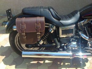 Sacoche Myleatherbikes Harley Dyna Low Rider (36)