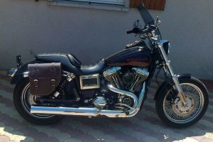 Sacoche Myleatherbikes Harley Dyna Low Rider (37)