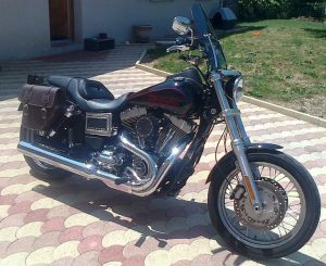 Sacoche Myleatherbikes Harley Dyna Low Rider (38)