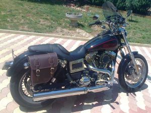 Sacoche Myleatherbikes Harley Dyna Low Rider (39)