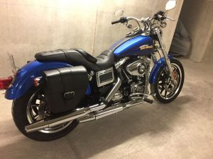 Sacoche Myleatherbikes Harley Dyna Low Rider (4)