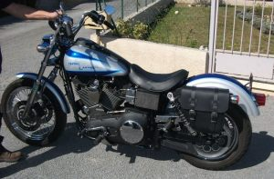 Sacoche Myleatherbikes Harley Dyna Low Rider (45)