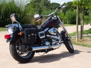Sacoche Myleatherbikes Harley Dyna Low Rider (49)