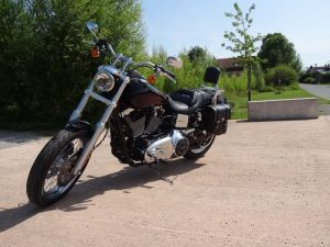 Sacoche Myleatherbikes Harley Dyna Low Rider (53)