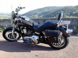 Sacoche Myleatherbikes Harley Dyna Low Rider (55)