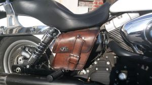 Sacoche Myleatherbikes Harley Dyna Low Rider (57)