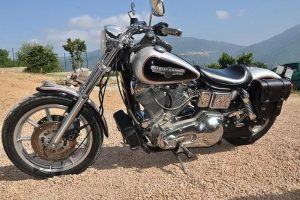 Sacoche Myleatherbikes Harley Dyna Low Rider (60)