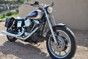 Sacoche Myleatherbikes Harley Dyna Low Rider (62)