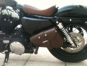 Sacoches Myleatherbikes Harley Sportster Forty Eight (1)