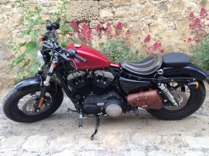 Sacoches Myleatherbikes Harley Sportster Forty Eight (11)