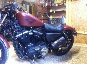 Sacoches Myleatherbikes Harley Sportster Forty Eight (15)