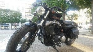 Sacoches Myleatherbikes Harley Sportster Forty Eight (19)