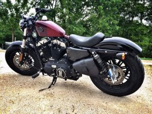 Sacoches Myleatherbikes Harley Sportster Forty Eight (33)