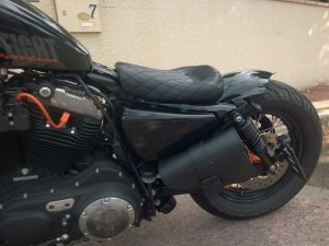 Sacoches Myleatherbikes Harley Sportster Forty Eight (37)